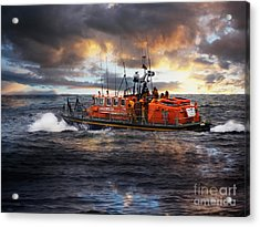 Dramatic Once More Unto The Breach  Acrylic Print