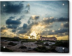 Dramatic Sunset Acrylic Print by Alfio Finocchiaro