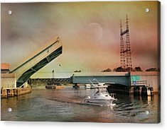 Draw Bridge Acrylic Print
