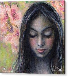Drawing Near Acrylic Print by Svetlana Novikova