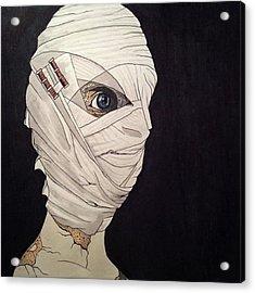Mummy Monday Acrylic Print by Russell Boyle