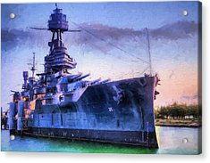 Dreadnought Acrylic Print by JC Findley