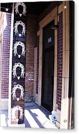 Dreads On A Pole Acrylic Print