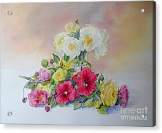 Acrylic Print featuring the painting Dream by Beatrice Cloake