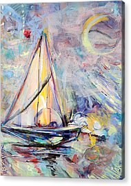 Dream Boat Acrylic Print