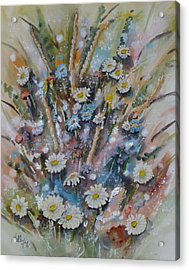 Dream Bouquet Acrylic Print by Kelly Mills