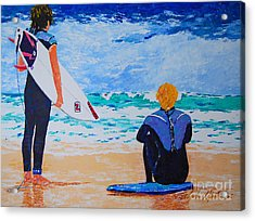 Dream Chasers  Acrylic Print by Art Mantia