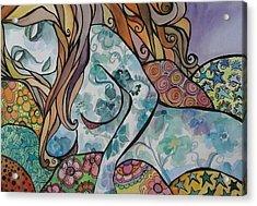 Dream Acrylic Print by Claudia Cole Meek