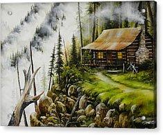 Dream Home Acrylic Print by David Paul