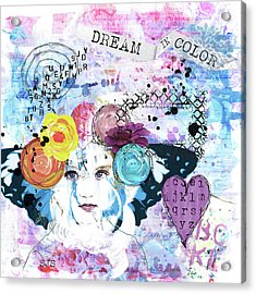 Dream In Color Acrylic Print