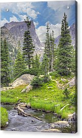 Dream Lake Acrylic Print
