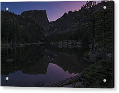 Acrylic Print featuring the photograph Dream Lake Reflections by Gary Lengyel