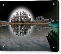 Dream Lake Acrylic Print by Rick McKinney