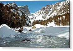 Dream Lake Rocky Mountain Park Colorado Acrylic Print by James Steele