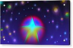Dream Like A Super Star Acrylic Print