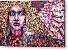 Dream Messenger-angel Acrylic Print