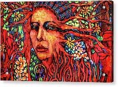Dream Messenger-earth Acrylic Print