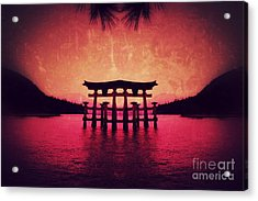Dream Of Japan Acrylic Print
