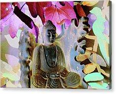 Dream Of Peace Come True Acrylic Print by Amara Dacer