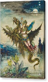Dream Of The Orient Or The Peri Acrylic Print by Gustave Moreau