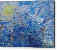 Dream Of Whales Acrylic Print