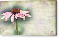 Dream Acrylic Print by Rebecca Cozart
