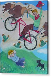 Dream Ride Acrylic Print