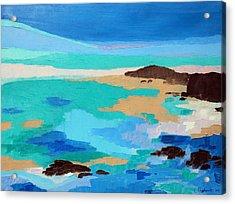 Dream Scape 14  Acrylic Print by Laura Tasheiko