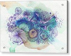 Dream -#ss16dw052 Acrylic Print by Satomi Sugimoto