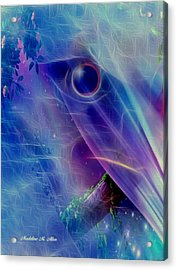 Dream State Acrylic Print by Madeline  Allen - SmudgeArt