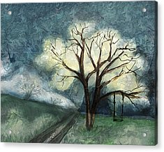 Dream Tree Acrylic Print by Annette Berglund