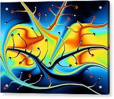 Dream Tree Acrylic Print by Robin Monroe