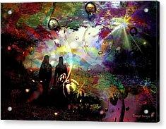 Dream Walking Acrylic Print
