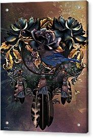 Dreamcatcher Blues  Acrylic Print