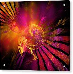 Dreamcatcher Acrylic Print by Ricky Barnard
