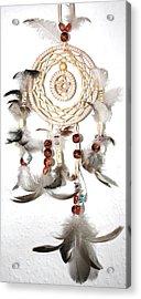 Dreamcatcher Acrylic Print by Toon De Zwart