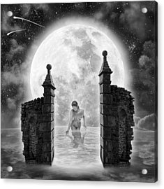 Dreamcatcher Acrylic Print by Vincent O Byrne