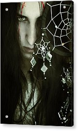 Dreamcatcher Acrylic Print by Cambion Art