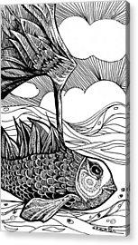 Dreamer Fish Acrylic Print