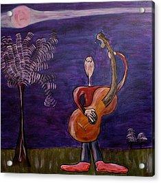 Dreamers 13-001 Acrylic Print by Mario Perron