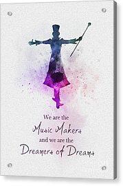 Dreamers Of Dreams Acrylic Print