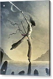 Dreamfall Acrylic Print by Jason Engle