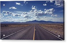Dreaming About The Extraterrestrial Highway Acrylic Print