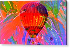 Acrylic Print featuring the photograph Dreaming Across The Sky by Jeff Swan