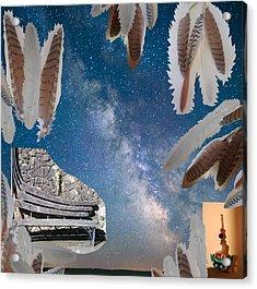 Dreaming Bench Acrylic Print