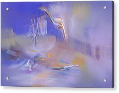Dreaming Acrylic Print by Emma Alvarez