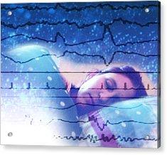 Dreaming Acrylic Print by Hannah Gal