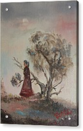 Dreaming Acrylic Print by Lillian Claxton