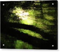 Dreaming Monet Acrylic Print