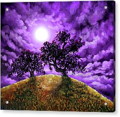 Dreaming Of Oak Trees Acrylic Print by Laura Iverson